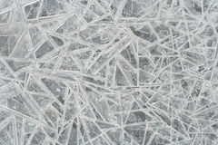 Ice crystals. This is ice as a background Stock Image