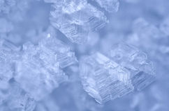 Ice crystals abstract Stock Photos