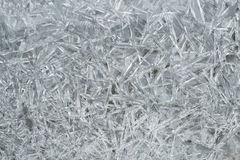Ice crystals pattern Royalty Free Stock Photography
