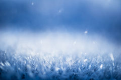 Ice crystals Stock Image