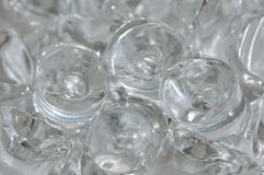 Ice Cube. Background of ice cube in row royalty free stock photos