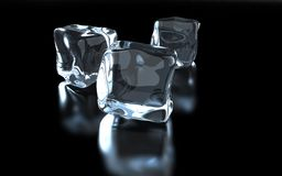 Ice cube Stock Image