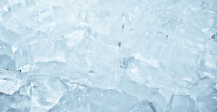 Ice cube as background Stock Photo