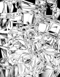 Ice cube background Royalty Free Stock Image