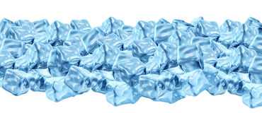 Ice Cube Border Royalty Free Stock Images