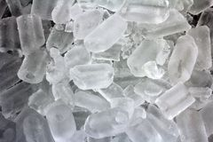 Ice cube circle Royalty Free Stock Photography