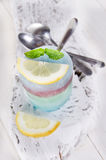 Ice Cube colored Royalty Free Stock Photo