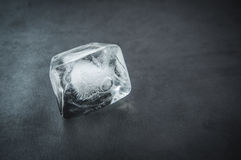 Ice cube. Royalty Free Stock Photo