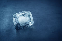 Ice cube. Stock Photos