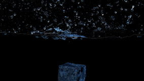 Ice cube stock video