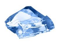 Ice cube isolated on white. Stock Image