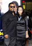 Ice Cube and Kimberly Woodfuff Stock Image