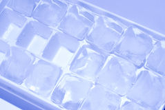Ice cube stack Stock Photography