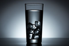 Ice cube water Royalty Free Stock Photography