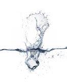 Ice cube. On white background Royalty Free Stock Image