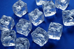 Ice cubes Stock Photography