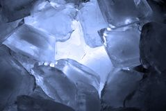 Ice cubes Royalty Free Stock Photography