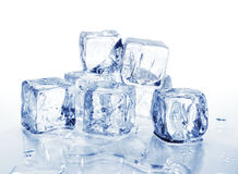 Ice cubes 2 Stock Images