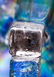 Ice cubes. Ice can refer any of the 14 known solid phases of water. However, in non-scientific contexts, it usually describes ice Ih, which is the most abundant Royalty Free Stock Photos