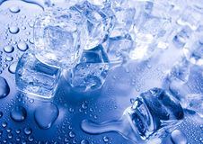 Ice cubes. Ice can refer any of the 14 known solid phases of water. However, in non-scientific contexts, it usually describes ice Ih, which is the most abundant Stock Photo
