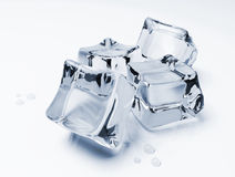 Ice cubes royalty free illustration