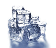 Ice cubes 4 Royalty Free Stock Photography