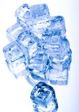 Ice cubes. Ice can refer any of the 14 known solid phases of water. However, in non-scientific contexts, it usually describes ice Ih, which is the most abundant Stock Photography