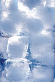 Ice cubes. Drink royalty free stock photo