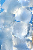 Ice cubes. Drink Royalty Free Stock Image