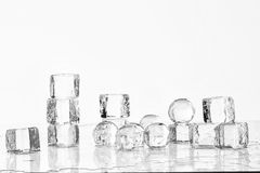 Free Ice Cubes And Balls Royalty Free Stock Photos - 72862148