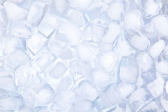 Ice cubes backgound Stock Images