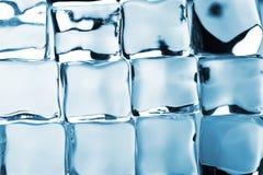 Ice cubes background Royalty Free Stock Image