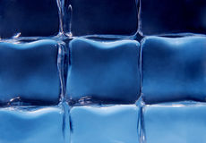 Ice cubes background Stock Image