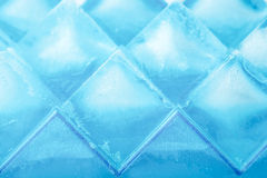 Ice cubes background close-up Stock Photography