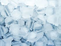 Ice cubes background. ice Water refresh texture drink cool concept. stock photo
