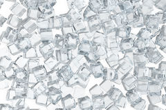 Ice cubes background, pile of white ice cubes. 3d rendering. Ice cubes background, pile of white ice cubes, 3d rendering vector illustration