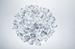 Ice cubes circle Stock Image