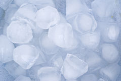 Ice cubes. Close up of ice cubes Royalty Free Stock Image