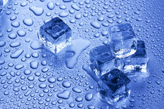 Ice Cubes Closeup Royalty Free Stock Images