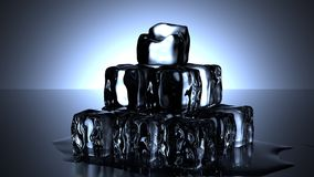 Ice Cubes, Cold, Water, Melt, Drink Stock Photography