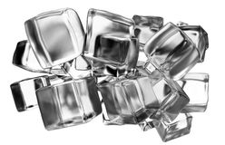 Ice cubes concept Royalty Free Stock Photography