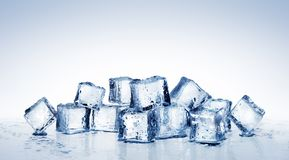 Ice Cubes - Cool Refreshing Crystals royalty free stock photos