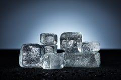 Ice cubes Royalty Free Stock Photos