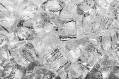 Ice cubes with drops Royalty Free Stock Image
