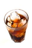 Ice cubes in a glass Royalty Free Stock Image
