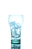 Ice cubes in glass Stock Photo