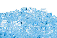 Ice cubes heap Stock Image
