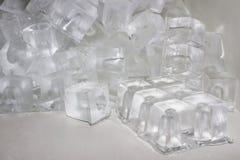 Ice cubes. Royalty Free Stock Photos
