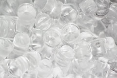 Ice cubes for pattern and background Royalty Free Stock Image