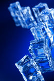 Ice cubes with reflection Royalty Free Stock Image